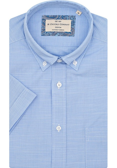 Stock Sport Shirt Regular Fit Button Down