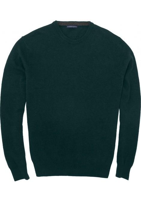 Πλεκτό Regular Fit Πράσινο Σκούρο