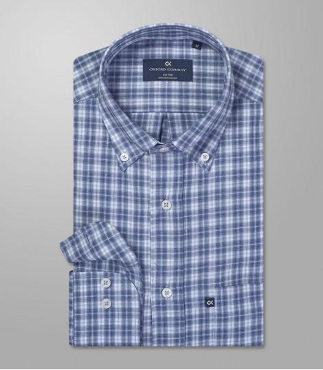 Stock Sport Shirt Check Regular Fit