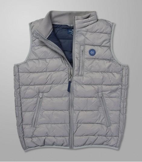 Stock Vest Grey -Regular Fit