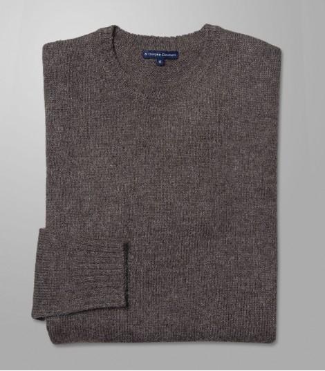 Stock Knit Regular Fit Brown