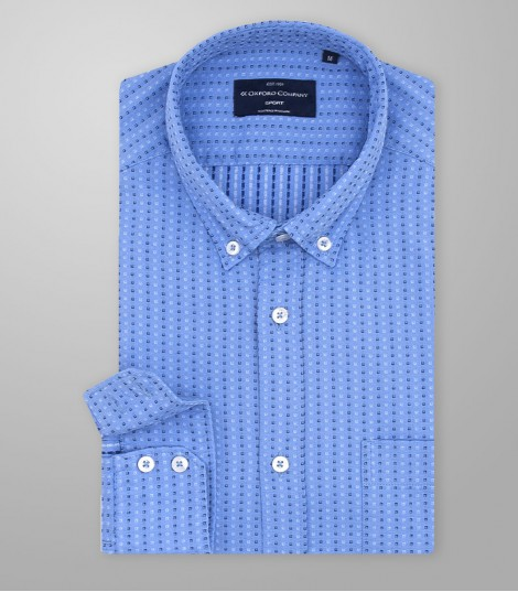 Stock Sport Shirt Print Slim Fit