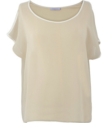 Stock Μπλούζα Γυναικεία Λευκή . 2bc8c6e7b32