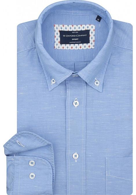 Stock Sport Shirt Regular Fit Button Down