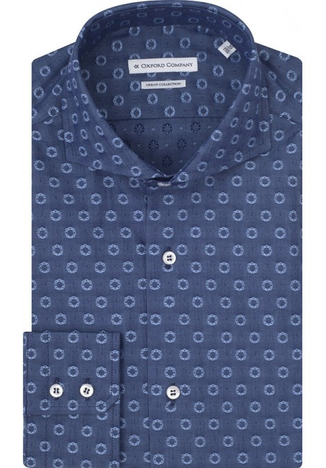 Stock Classic Shirt Slim Fit Francese